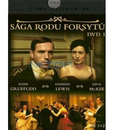 Sága rodu Forsytů - DVD Kolekce (The Forsyte Saga) DVD Kolekce 7 DVD.