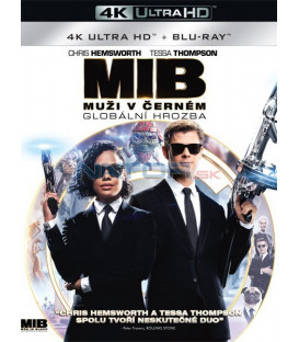 MUŽI V ČERNÉM: Globální hrozba 4 - 2019 (Men in Black: International 4) (4K Ultra HD) - UHD Blu-ray + Blu-ray