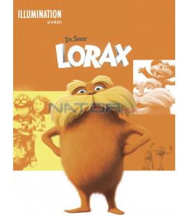 Lorax - animovaný 2012  (Dr. Seuss The Lorax DVD