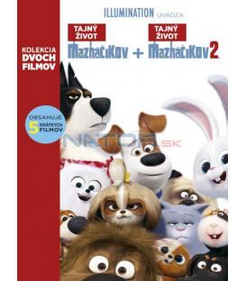 Tajný život maznáčikov 1+2 KOLEKCIA - 2019 (The Secret Life of Pets 1+ 2) DVD