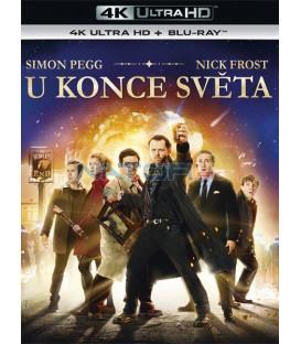 U Konce světa 2013 (The Worlds End) (4K Ultra HD) - UHD Blu-ray + Blu-ray