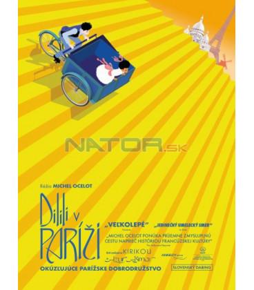 DILILI V PAŘÍŽI 2018 (Dilili in Paris) DVD