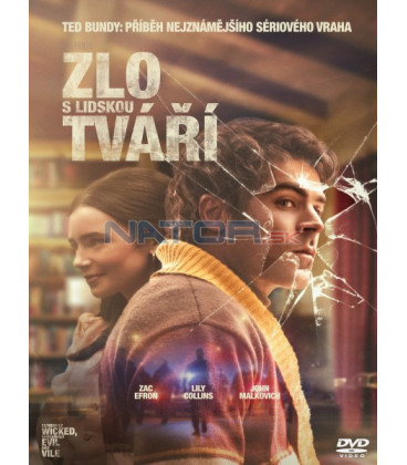 ZLO S LIDSKOU TVÁŘÍ 2019 (Extremely Wicked, Shockingly Evil and Vile) DVD
