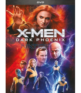 X-Men: Dark Phoenix 2019 DVD (SK OBAL)