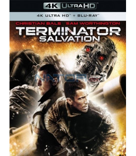 TERMINATOR SALVATION 2009 (4K Ultra HD) - UHD Blu-ray + Blu-ray