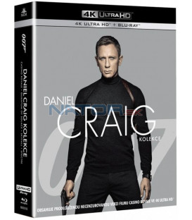 James Bond: Daniel Craig 2019 (4k Ultra HD Blu-ray kolekce)
