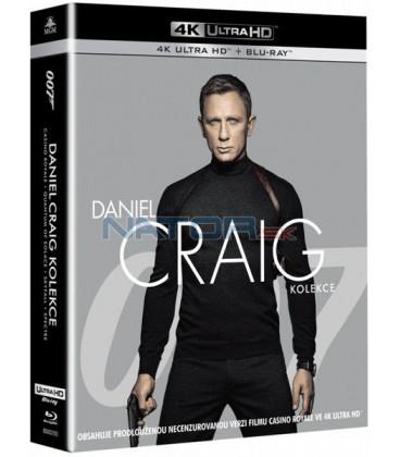 James Bond: Daniel Craig 2019 (4k Ultra HD Blu-ray kolekce)