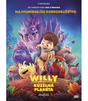 Willy a kouzelná planeta  2019 (Terra Willy) DVD
