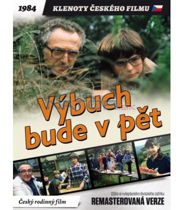 Výbuch bude v pět 1984 (remasterovaná verze) DVD