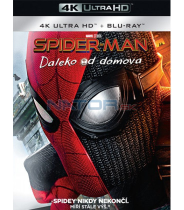 SPIDER-MAN: Daleko od domova 2019 (SPIDER-MAN: Far From Home) (4K Ultra HD) - UHD Blu-ray + Blu-ray