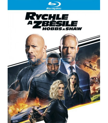 Rychle a zběsile: Hobbs a Shaw 2019 (Fast & Furious Presents: Hobbs & Shaw) Blu-ray