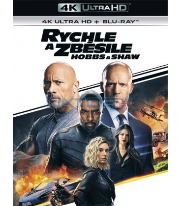 Rychle a zběsile: Hobbs a Shaw 2019 (Fast & Furious Presents: Hobbs & Shaw) (4K Ultra HD) - UHD Blu-ray + Blu-ray