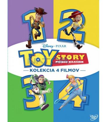 Toy Story: Příběh hraček 1-4 kolekce - 4DVD