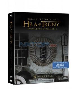 Hra o trůny 8. série 6Blu-ray (UHD+BD) Steelbook