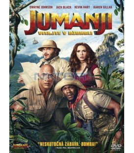 JUMANJI: VITAJTE V DŽUNGLI! (Jumanji: Welcome to the Jungle) DVD (SK obal)