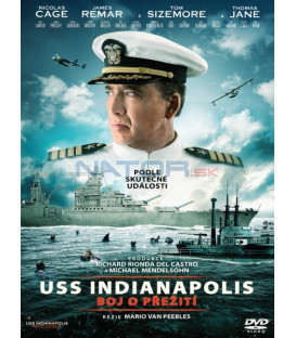 USS INDIANAPOLIS: Boj o přežití 2016 (USS Indianapolis: Men of Courage) DVD