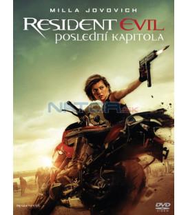 RESIDENT EVIL: POSLEDNÍ KAPITOLA (Resident Evil: The Final Chapte) DVD