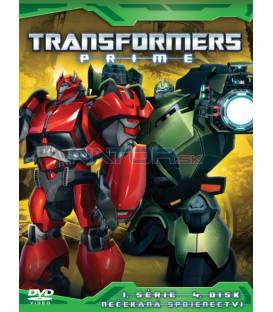 TRANSFORMERS PRIME 1. SÉRIE (Transformers Prime Season 1) Disk 4 - DVD