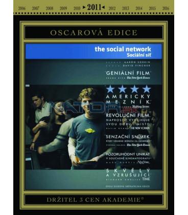 Social Network, The - Sociální síť DVD Oscarová edice