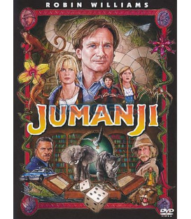 Jumanji 1995  DVD Robin Williams
