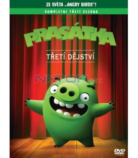Angry birds: Prasátka 3. série DVD