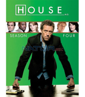Dr. House, 4. sezóna 4 DVD (House M.D.: season 4 h)
