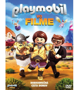 Playmobil vo filme 2019 (Playmobil: The Movie) DVD (SK OBAL)