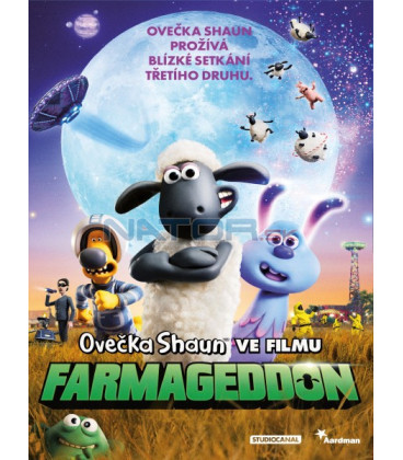 Ovečka Shaun ve filmu: Farmageddon 2019 (Shaun the Sheep Movie: Farmageddon) DVD