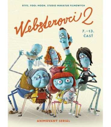 Websterovci 2: Zo života pavúkov DVD (SK) DVD