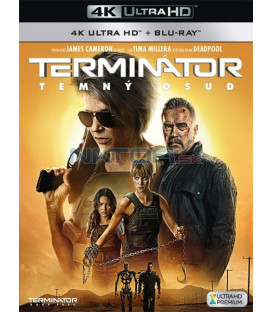Terminátor: Temný osud 2019 (Terminator: Dark Fate) (4K Ultra HD) - UHD Blu-ray + Blu-ray