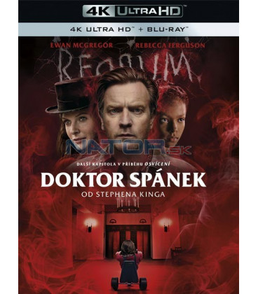 Doktor Spánek od Stephena Kinga 2019 (Doctor Sleep) (4K Ultra HD) - UHD Blu-ray + Blu-ray