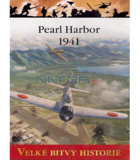 Velké bitvy historie Pearl Harbor 1941 DVD