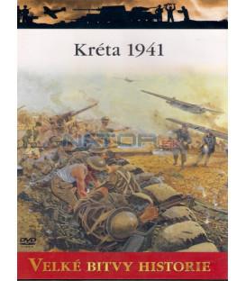 Velké bitvy historie Kréta 1941 DVD