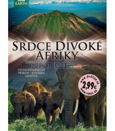 Srdce divoké Afriky 2010 DVD