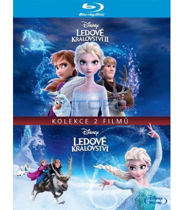 Ľadové kráľovstvo kolekcia 1.+2. Blu-ray