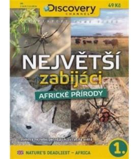 Největší zabijáci africké přírody 1. (Nature´s deadliest - Africa) DVD