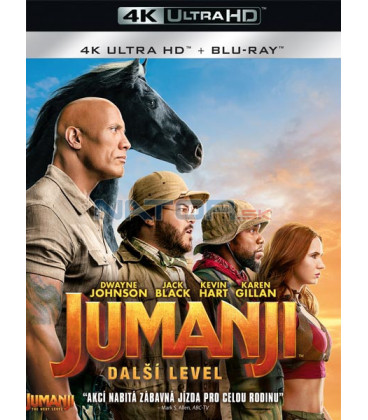 Jumanji: Další level 2019 (Jumanji: The Next Level) (4K Ultra HD) - UHD Blu-ray + Blu-ray