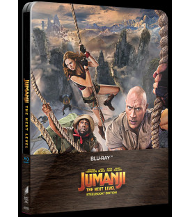 Jumanji: Další level 2019 (Jumanji: The Next Level) Blu-ray Steelbook