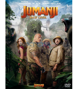 Jumanji: Další level 2019 (Jumanji: The Next Level) DVD (SK OBAL)