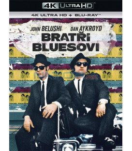 Bratři Bluesovi 1980 (Blues Brothers) (4K Ultra HD) - UHD Blu-ray + Blu-ray