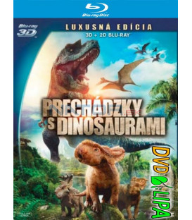 Prechádzky s dinosaurami 3D (Walking with Dinosaurs 3D) 2013 - Blu-ray 3D + 2D