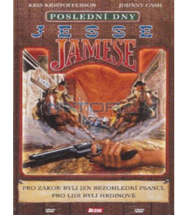 Poslední dny Jesse Jamese (The Last Days of Frank and Jesse James) DVD