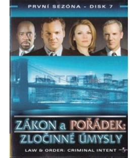 Zákon a pořádek: Zločinné úmysly - disk 7(Law & Order: Criminal Intent)