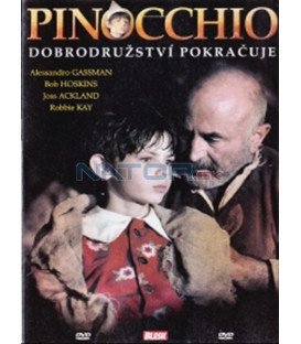 Pinocchio - Dobrodružství pokračuje (Pinocchio) DVD