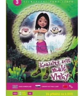 Kouzelný svět malé Vlnky 3 (Magic Wonderland) DVD