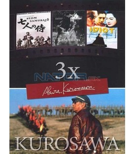 Idiot + Rašómon + Sedm samurajů-Kolekce AKIRA KUROSAWA