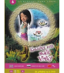 Kouzelný svět malé Vlnky 6 (Magic Wonderland) DVD