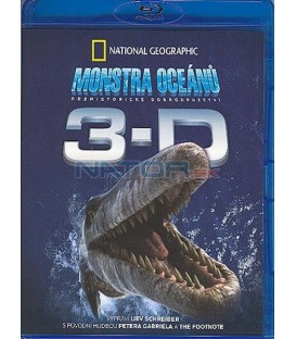 Monstra oceánů 3D+2D National Geographic - Blu-ray