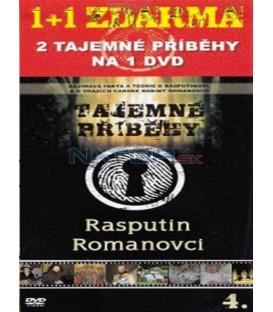 Tajemné příběhy (4. díl) - Rasputin / Romanovci (Mystery Files: Rasputin / The Romanovs) DVD