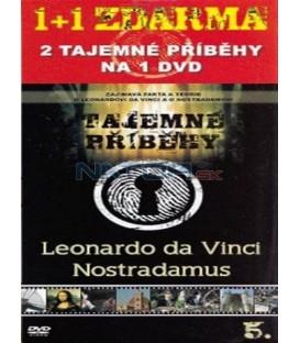 Tajemné příběhy (5. díl) - Leonardo da Vinci / Nostradamus (Mystery Files: Leonardo da Vinci / Nostradamus) DVD